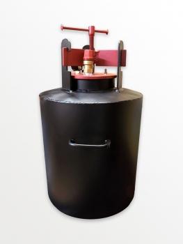 AKME 8 Dampfsterilisator für 8 Gläser 0,5 Liter Autoklav Elektrisch Standart